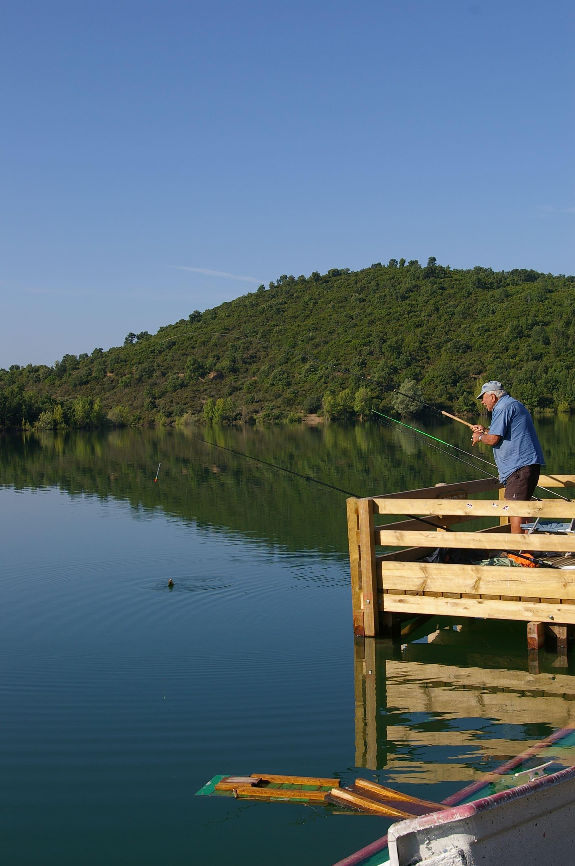 ponton handi-pêche