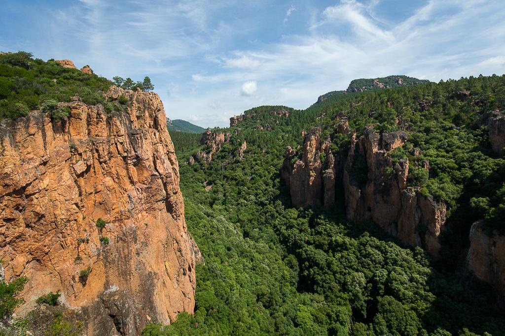 Gorges du Blavet à Bagnols-en-Forêt