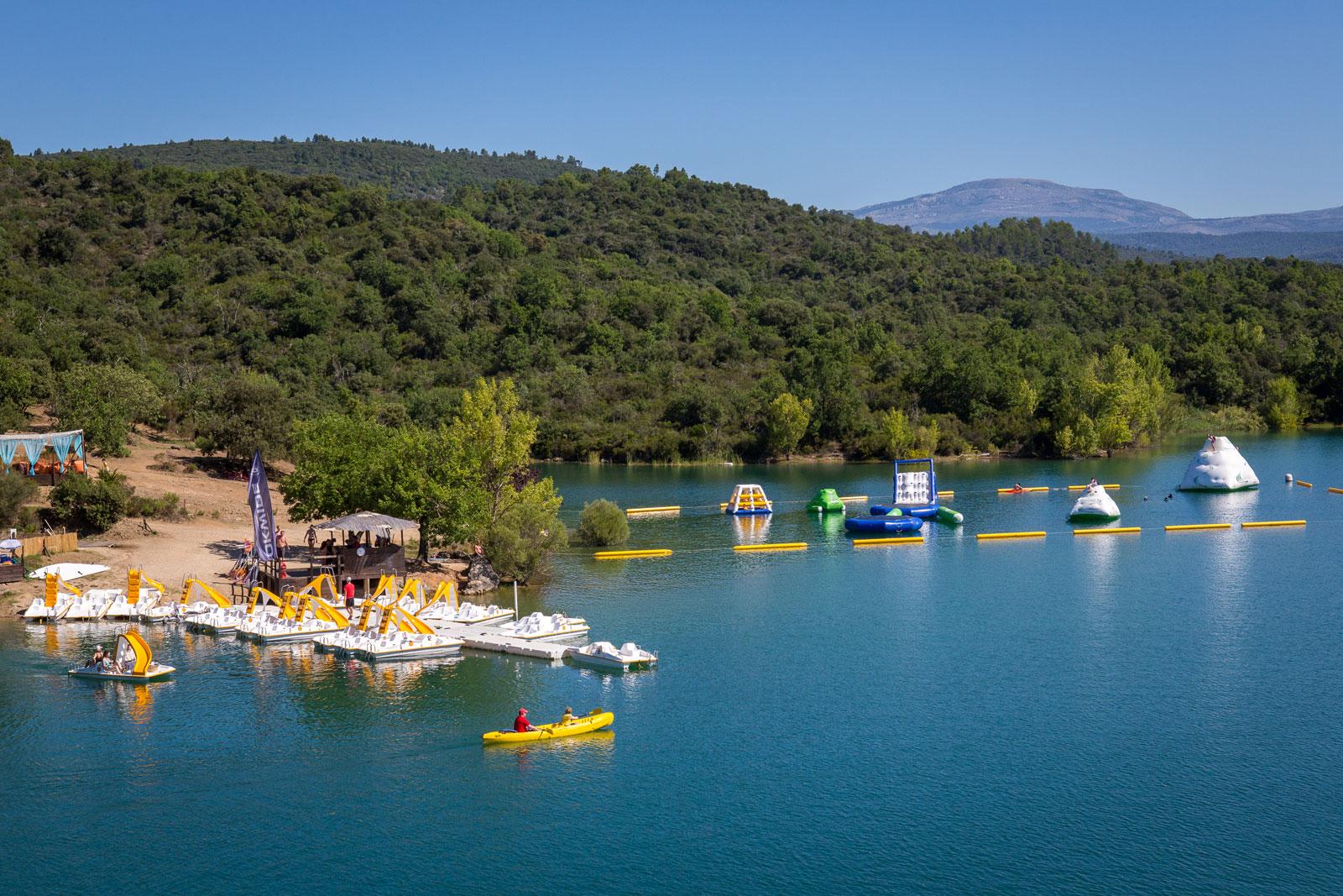 Loisirs Lac de Saint-Cassien