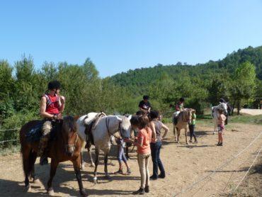 balade à poney autour du lac de Saint-Cassien