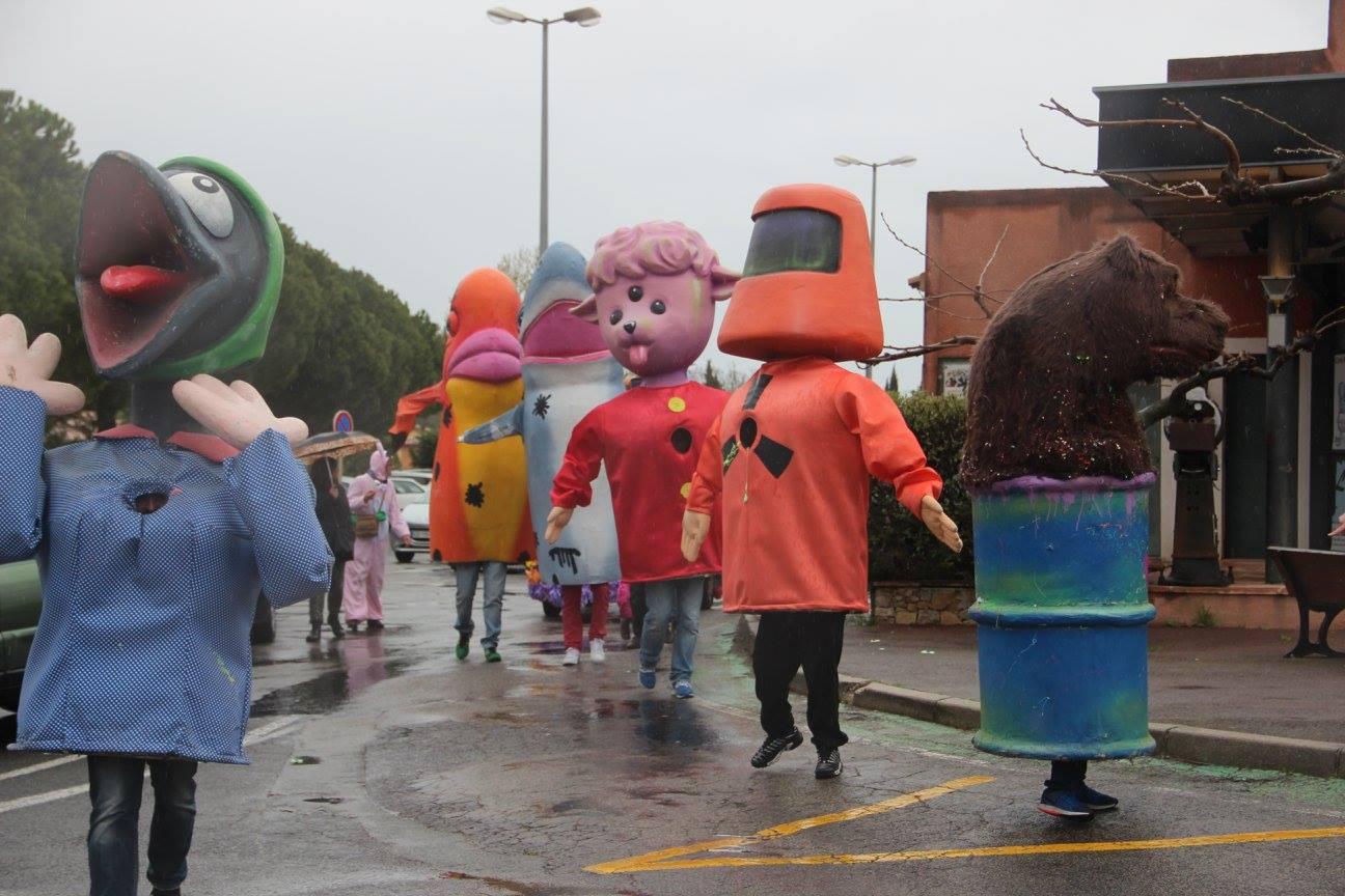 Les Grosses Têtes Carnaval de Montauroux