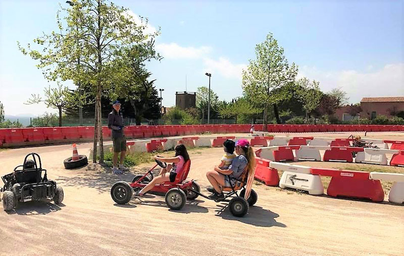 Kart à pédales à Montauroux