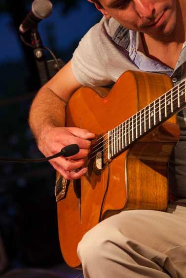 Guitare jazz à Tourrettes