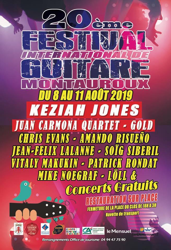 20ème Festival International de Guitares 2019