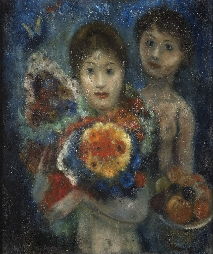 Women and Flowers [1942]   by Gandalf's Gallery