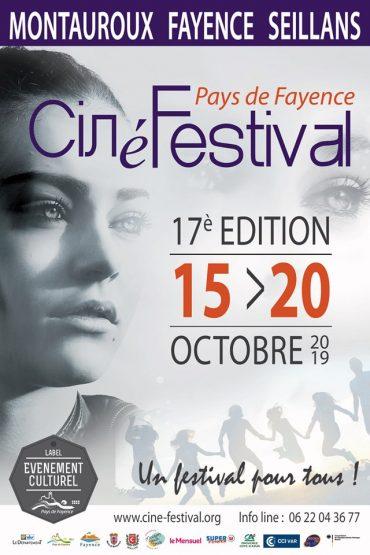 Ciné Festival du 15 au 20 oct 2019