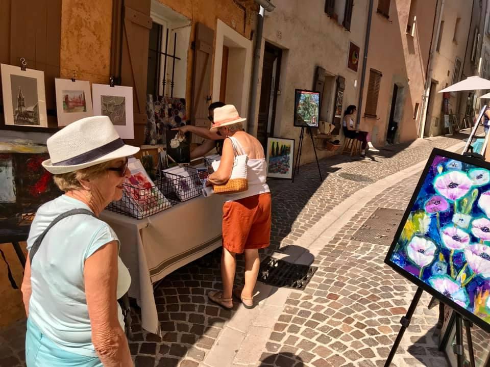 arts au coeur du village