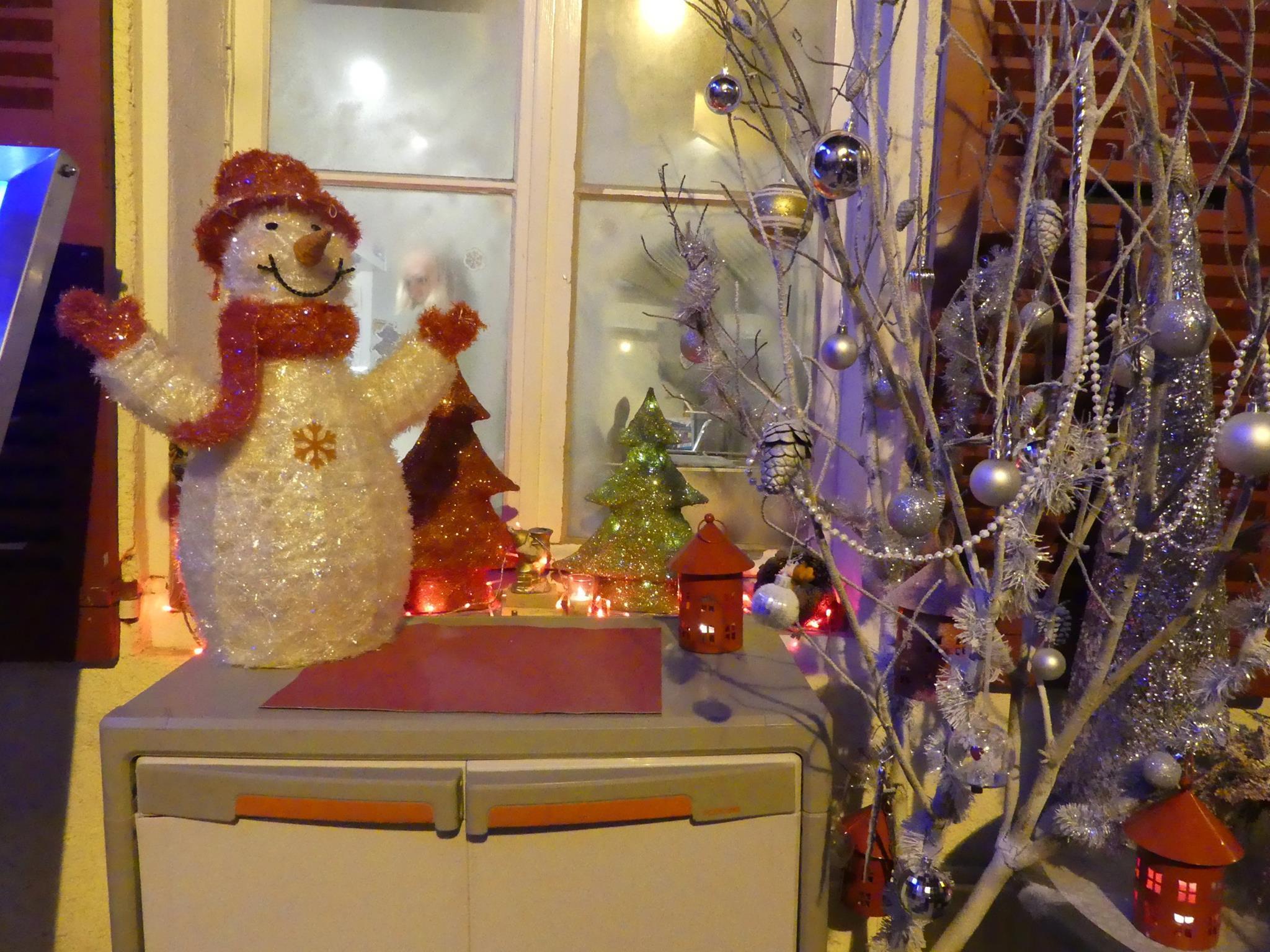 Les fenêtres de Noël à Callian