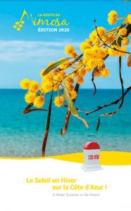 Couverture Magazine Route du Mimosa 2020