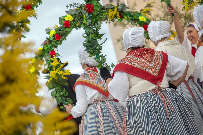 Fête du Mimosa défilé