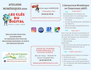 ateliers numériques 2020