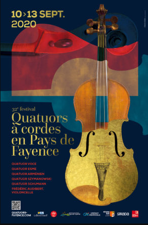 Affiche Quatuors à Cordes 2020