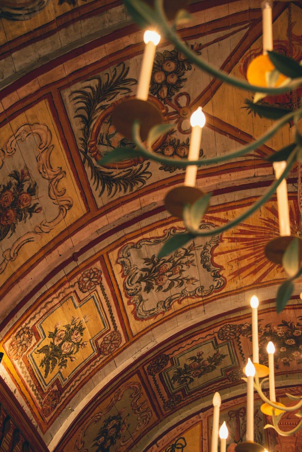 Plafond de la Chapelle St-Barthélémy