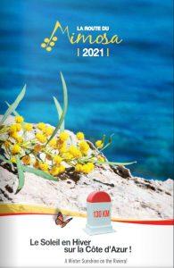 Page de couverture Route du Mimosa 2021