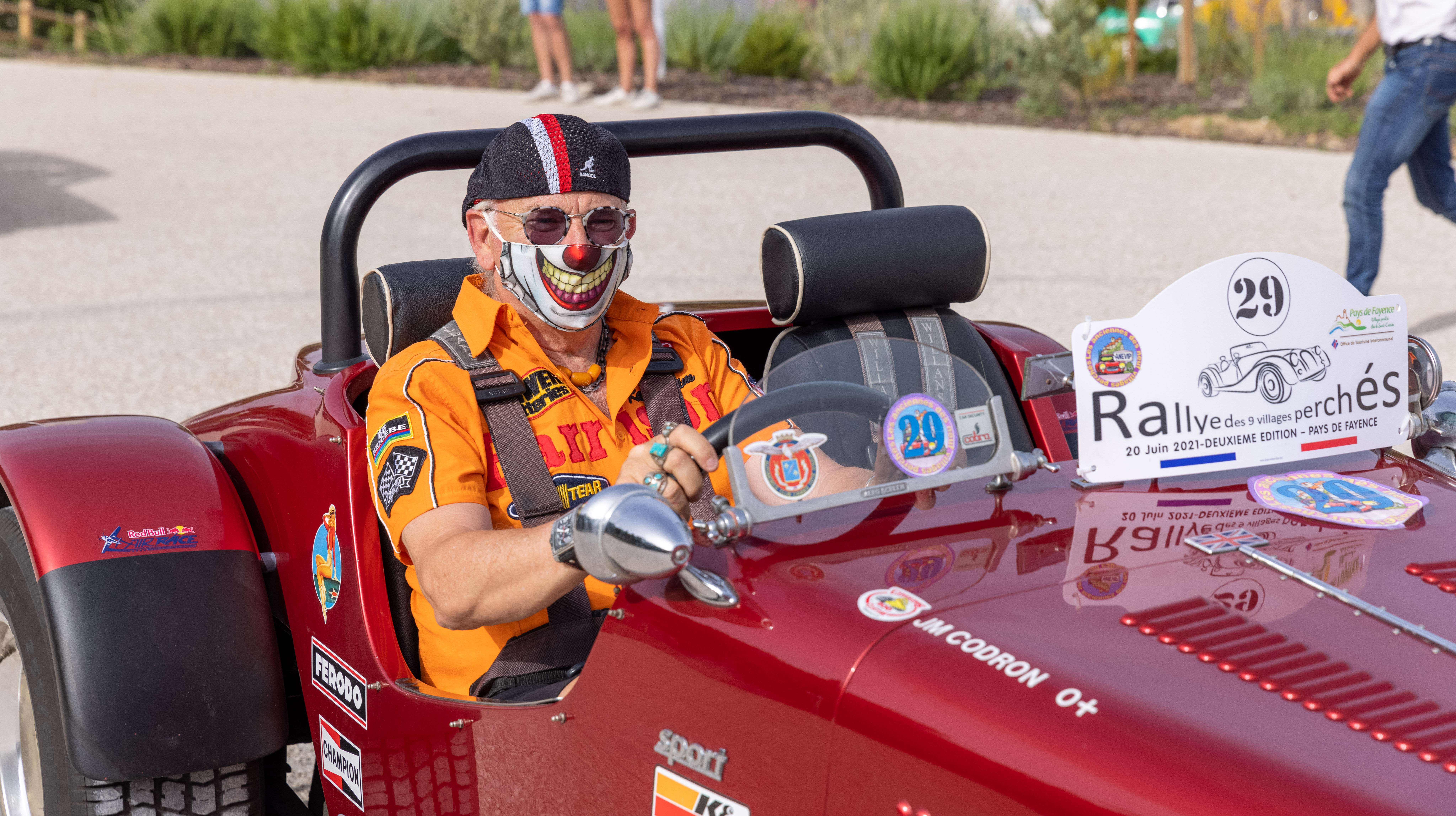 Départ du Rallye