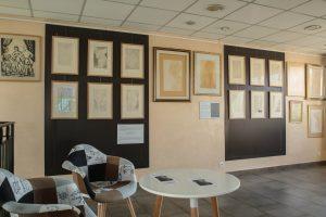Espace Manfredo Borsi-Intérieur avec mobilier