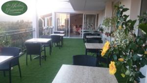 Terrasse au relais provençal