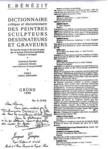 Alain Girelli – Bénézit